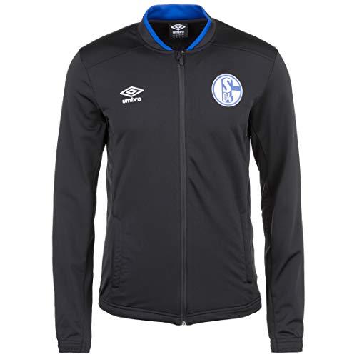 UMBRO FC Schalke 04 Knit Trainingsjacke Herren schwarz/blau, S