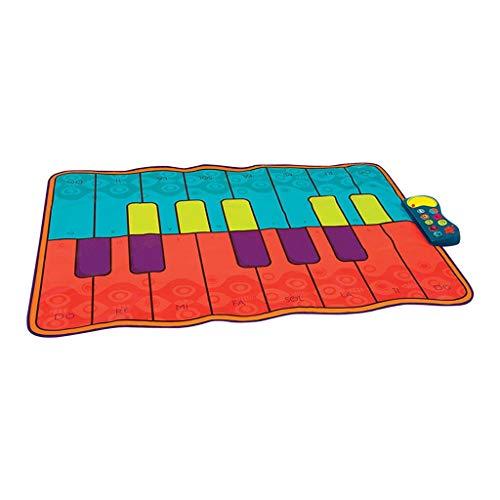 JSY Música de Piano Manta niños Bailando música Almohadilla Deportes Manta de bebé de la Aptitud del Juego Entre Padres e Hijos toysI
