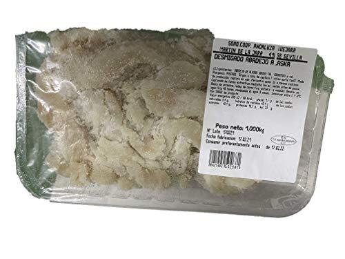 DESMIGADO ABADEJO DE ALASKA Desmigado Abadejo El bacalao desmigado o migas de bacalao es útil en la elaboración de creativas recetas, sin espinas.
