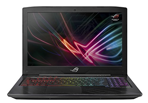 "ASUS ROG Strix Hero Edition 15.6"" Gaming Laptop, 8th-Gen 6-Core Intel Core i7-8750H processor (up to 3.9GHz), GTX 1050 Ti 4GB, 120Hz 3ms display, 16GB DDR4, 128GB PCIe SSD + 1TB FireCuda, GL503GE-ES73"
