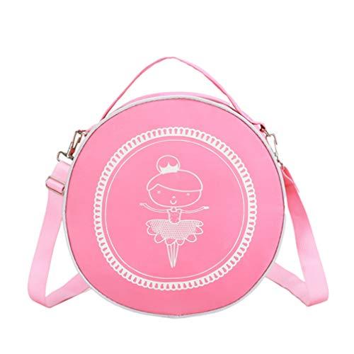 TENDYCOCO bolso bandolera bandolera redonda bandolera bolsos de ballet para niñas