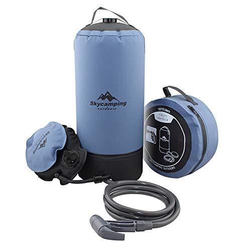 Roeam 11L Campingdusche PVC Camping Dusche für Camping Garten-Auto-Outdoor,Hundedusche,Outdoor Dusche 2M Wasserleitungen
