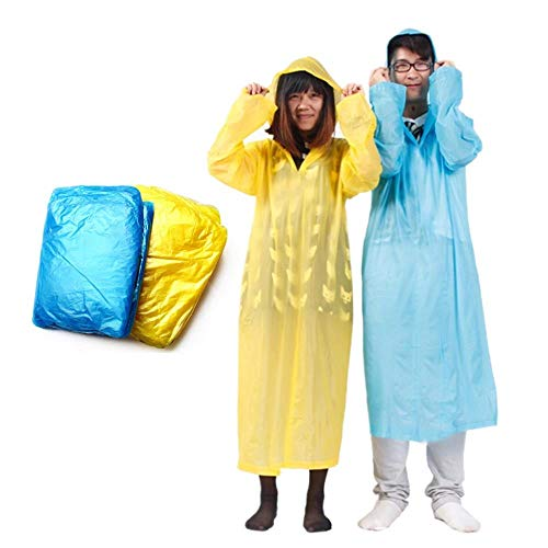LHXS Wegwerp Regenjas Volwassen Noodgeval Waterdichte Poncho Reizen Wandelen Camping Regenjas Unisex Regenkleding