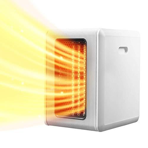 Calentador eléctrico para habitación decorativa para el hogar Calentador de ventilador infrarrojo espacial PTC Calentador de ventilador Calentador eléctrico vertical Termostato y corte de seguridad
