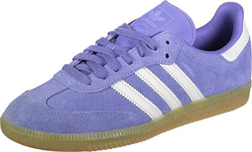 adidas Samba OG W, Zapatillas de Deporte Mujer, Morado (Lilrea/Lilrea/Balcri 0), 41 1/3 EU