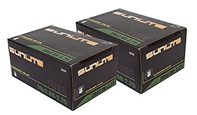 Street Fit 360 2 Pack Saver - Tube, 20 x 2.00-2.25 Schrader Valve, 32mm Schrader Valve. Sunlite Bicycles. BMX, Kids, Child or Youth Bike. Any Bike with Same tire Dimensions.