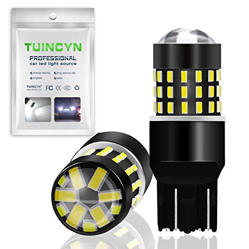 TUINCYN 7443 7440 T20 992 7444NA Lampadine a LED Bianco 3014 54-EX Chipset Luce di retromarcia, luce di posizione, luce di marcia diurna, luce di direzione posteriore, luce di coda (2 pezzi)