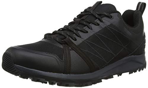 The North Face Mens Litewave Fastpack II WP, Zapato para Caminar Hombre, TNF Black, 47 EU