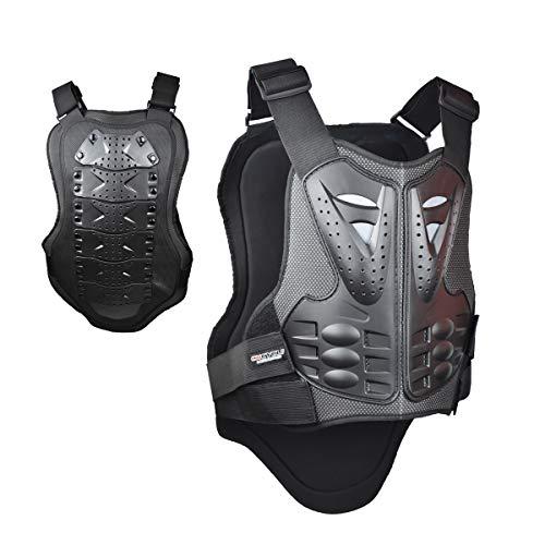 Madbike Protezioni moto per armatura di giubbotto Madbike per protezione petto e schiena (L)