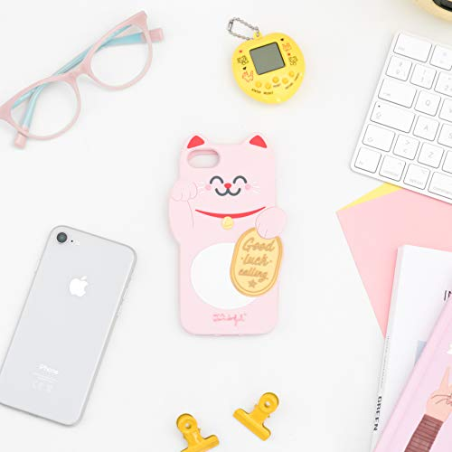 Mr. Wonderful Carcasa Silicona para iPhone 6/7/8 Gato