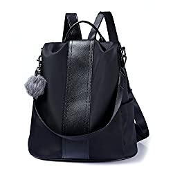 Shoulder bag with best features of backpack purses