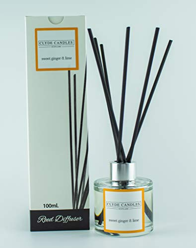 Clyde Candles Sweet Ginger & Lime Reed Diffus