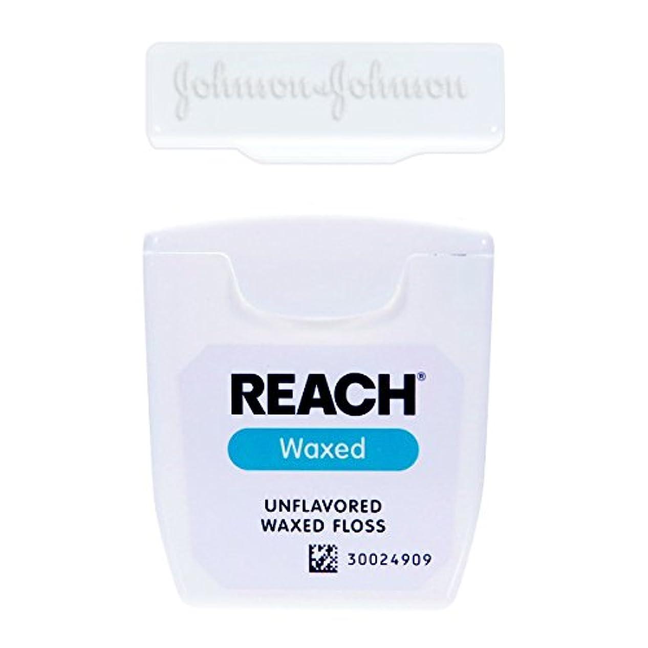 節約するルーチン協会輸入品 J&J REACH デンタル フロス 55ヤード 50.2m (ワックス?ノンフレーバー)
