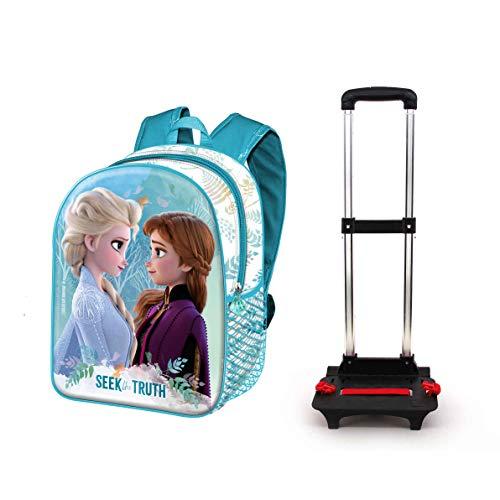 Frozen 2 Seek-Mochila Basic con Carro