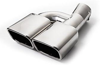 サムライプロデュース トヨタ CHR C-HR トヨタCHR マフラーカッター スクエアタイプ 2本出し シルバーカラー
