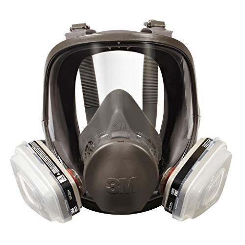 3M 07163 Full Facepiece Respirator Packout Organic Vapor P95, Large