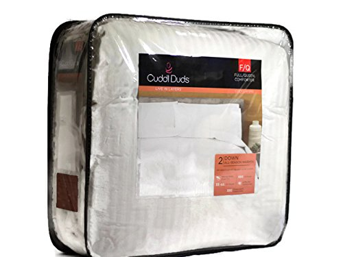 Cuddl Duds Level 2 Down All Season Warmth F/Q Comforter