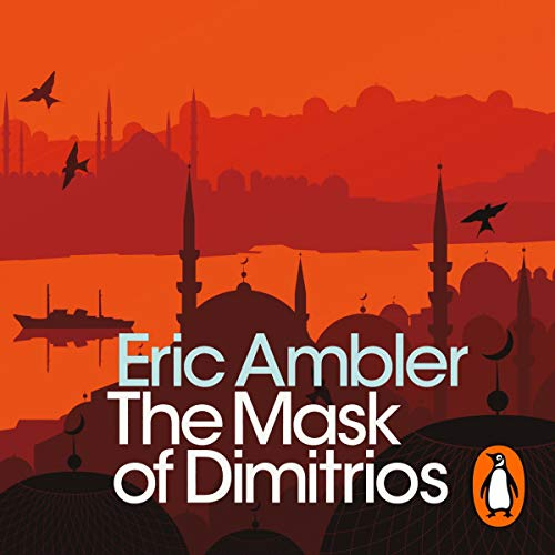 The Mask of Dimitrios audiobook cover art