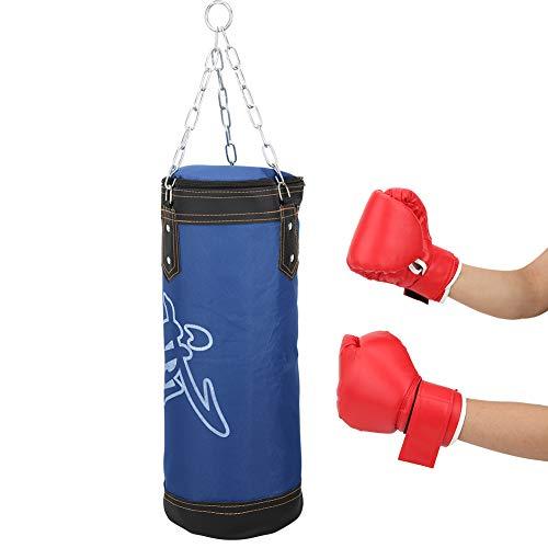 Saco de Arena vacío para Boxeo, Duradero y Resistente al Desgaste Saco de Boxeo Colgante Saco de Boxeo sin Relleno Saco de Boxeo Colgante para niños Fácil de llenar para Entrenamiento de