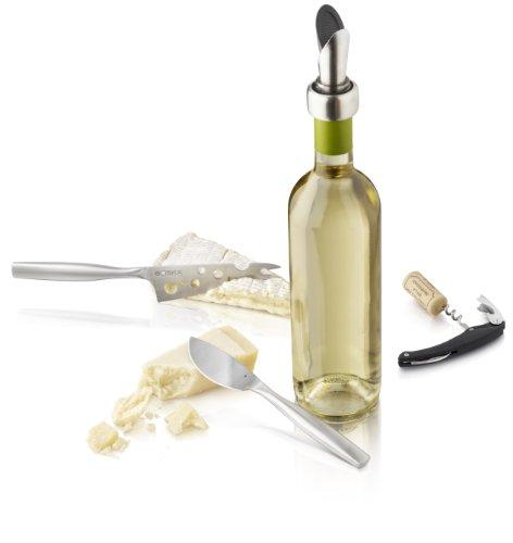 Boska - Coffret cadeau Fromage et Vin - Couteau et accéssoires en Inox