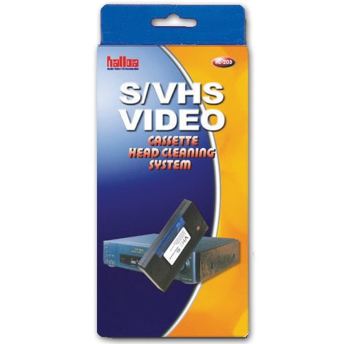 VHS & SVHS video tape head casse...