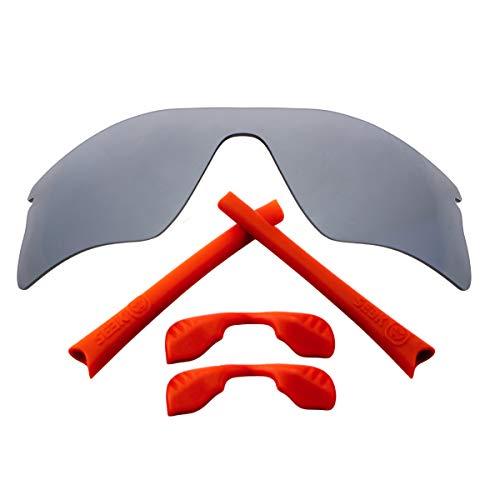 Accesorios de lentes de repuesto compatibles con OAKLEY RADAR RANGE Plata &...