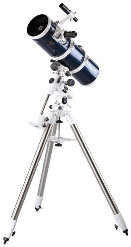 Celestron – Omni XLT 150 Newtonian Reflector Telescope – Hand-Figured Refractor with XLT Optical Coatings – Manual German Equatorial EQ Mount with Setting Circles and Slow Motion Control – Includes Accessories