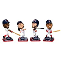 "FOCO Boston Red Sox 2018 World Series Champions 4-Pack 4"" Mini Bobblehead Set"