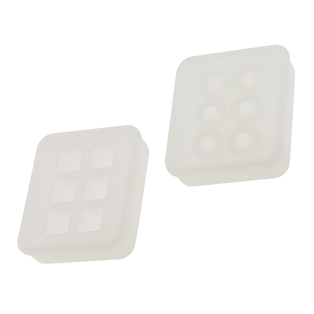 Juanya 15 Pieces Resin Molds Silicone Pendant Mould for Jewellery DIY