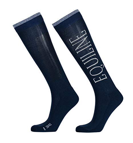 Equiline Pheasant Socks Blue / EU35/38