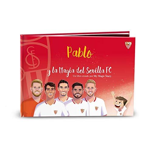 Libro infantil personalizado La Magia del Sevilla FC de My Magic Story