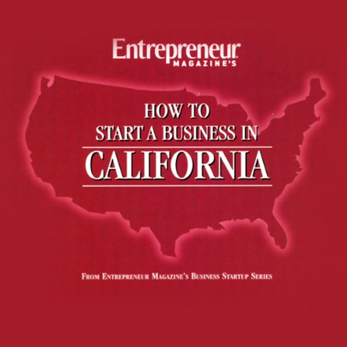 How to Start a Business in California audiobook cover art
