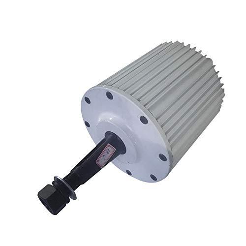 NL 1KW Low RPM Brushless imán permanente generador 1000 W 48 V 96 V AC alternador para turbina de viento (96 V, con base)