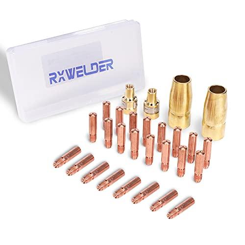 RX WELD 28PCS MIG Welding Gun Accessory Kit .035