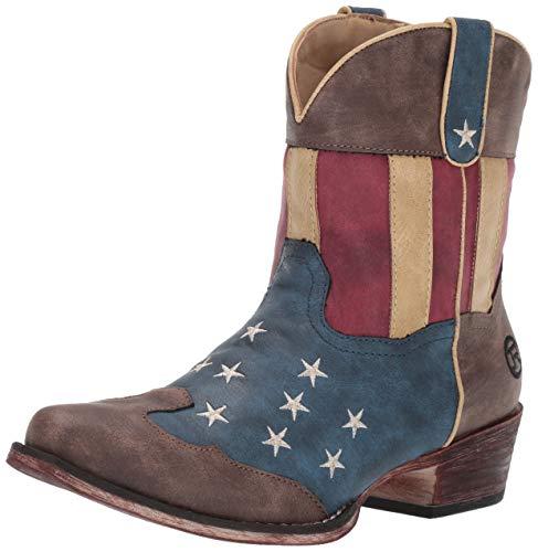 Roper Women's Flotus Western Boot, Brown, 7