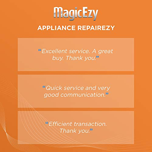 MagicEzy Appliance RepairEzy - Appliance Scratch Repair Like a Pro - Refrigerator, Stoves, and all Metal or Enamel Appliances - Gloss Finish - Super Strong - Available in Black and White (Black)