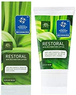 Restoral Ointment for Psoriasis, Eczema, Dermatitis, Rashes Revolutionary Powerful Formula Skin Relief for Scaling, Flaking, Itching, Preventing Flare-ups (5.3 Ounce)