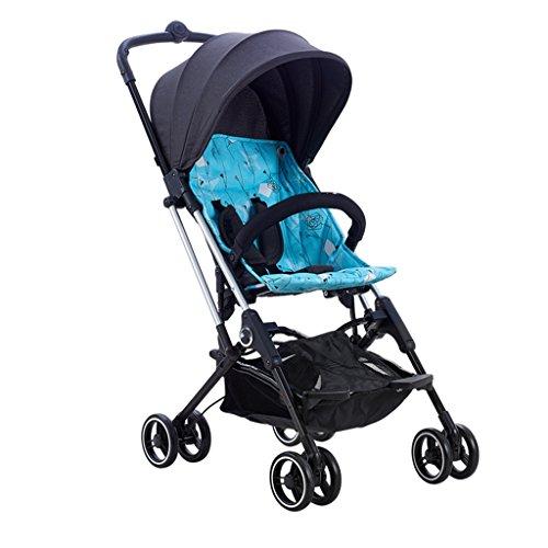 Best Review Of JIANXIN Strollers, Light Folding Front Wheel Shock Absorbers, Lightweight Strollers f...