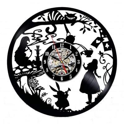 YHZSML Reloj de Pared de Disco de Vinilo diseño Moderno...