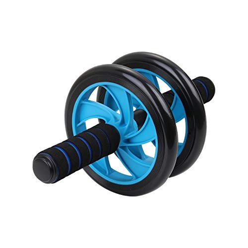 XuCesfs Abdomen Round Abs Wheel Abdominal Muscle Building Machine (Color : Blue)