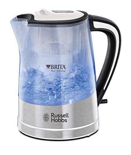 Russell-Hobbs-22851-BritaFilter-Purity-Plastic-05-l-kabelloser-Wasserkocher-Wei