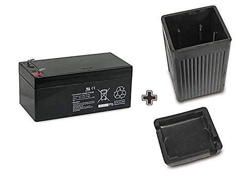 SET 12V Batterie AGM 3,2 Ah + Batteriegehäuse für AWO -S -T inkl. 7,50EUR Pfand