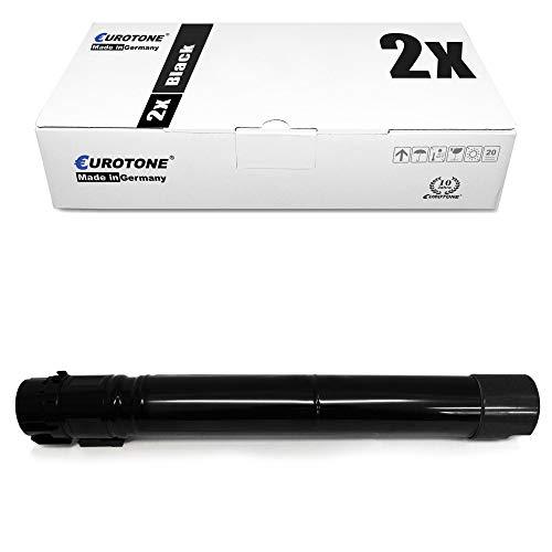 2X Eurotone Toner für Xerox Workcentre 7425 7428 7435 FX R FLX F FL RX RBX RL FBX RLX ersetzt 06R01395 6R1395 Black