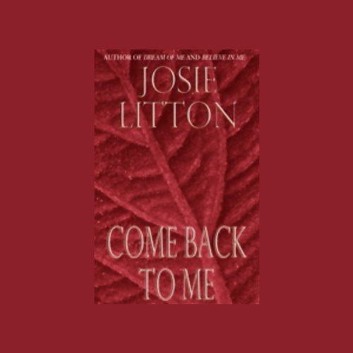 Come Back to Me audiobook cover art