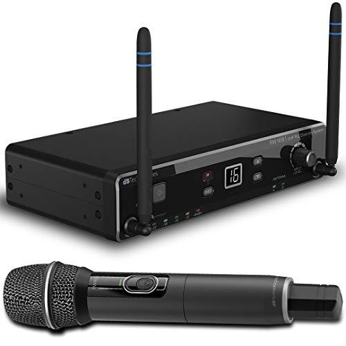 dB Technologies RW16 MS UHF Funkmikrofon mit Palmare Eiscreme
