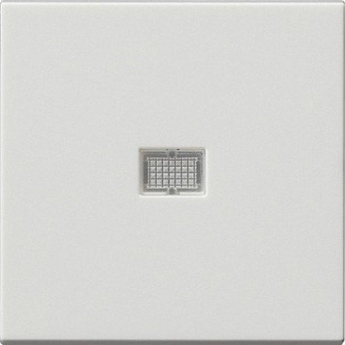 Gira Wippe 029827 Kontrollfenster System 55 rwm, Reinweiss, 5, 0 x 5, 0 cm