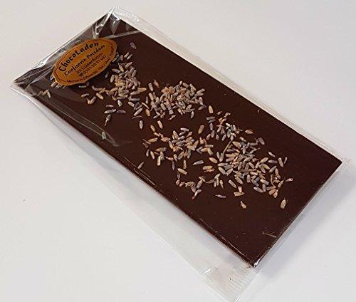 ChocoLaden - Bitterschokolade mit Lavendel -HANDGEMACHT-