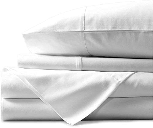 Real Giza Cotton Split Head King Bed Sheet Set 34 Split at Top 100 Certified Long Staple Embroidered product image