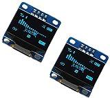 2pcs OLED 128X64 Display OLED LCD LED Display Module I2C IIC SPI Serial COLOR BLUE | 2pcs ...