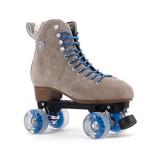 BTFL Trends- Rollschuhe Tony Pro Damen,Mädchen,Herren,Discoroller, Rollerskates,Braun,EU: 39